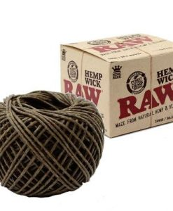 raw hempwick 100 foot roll image