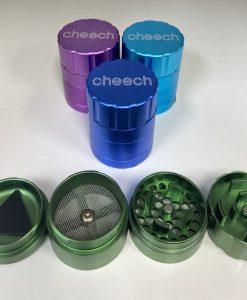 Cheech Pop Lock Grinder Small Open
