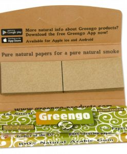 Greengo 1 1/4 Rolling Papers & Tips