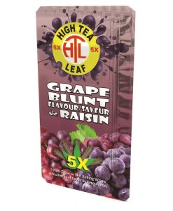 High Tea Leaf Wrap Grape