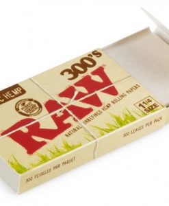 Raw 300 pack organic hemp