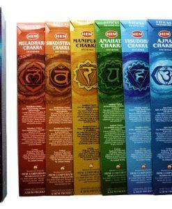 Hem Seven Chakras Incense Sticks