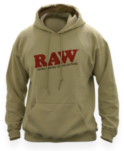 Raw Hoodie Tan