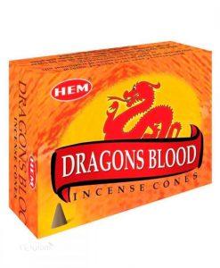 hem dragons blood incense cones - 10 pack