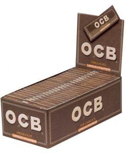 OCB unbleached virgin papers