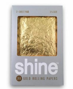 Shine Gold Rolling Papers 1 1/4