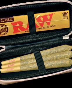 Raw Cone Wallet Inside