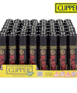 Raw Black Clipper Lighters