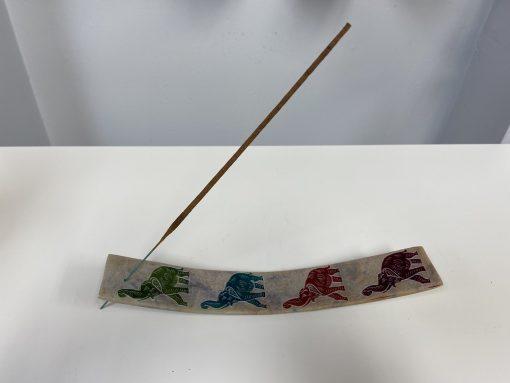 Soapstone Elephant Incense Holder