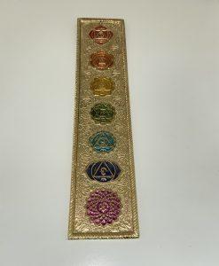 Golden Aluminum Incense Holder
