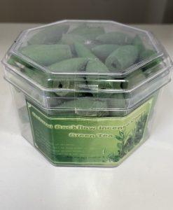 Green Tea Backflow Incense Cones