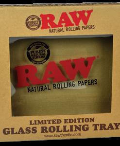Raw Glass Rolling Tray Box