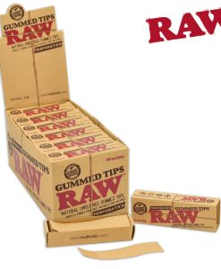Raw Tips Gummed