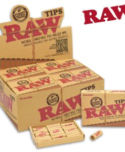 Raw Pre Rolled Rolling Tips