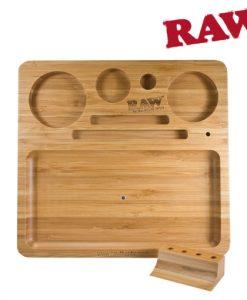 Raw Bamboo Rolling Tray