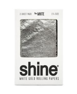 Shine White Gold Rolling Papers