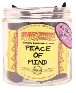 Peace of Mind Backflow Incense Cones