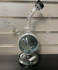 Grey Kaos Glass Sphere Dab Rig