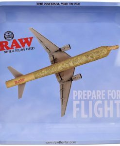 Raw Prepare for Flight Rolling Tray Large