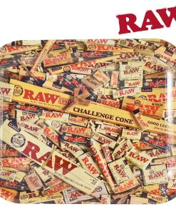 Large Raw Mix Rolling Tray