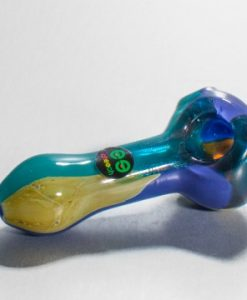 Cheech Blue Multicolour Glass Pipe