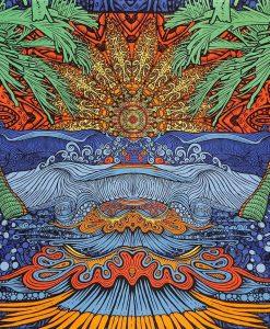 Epic Surf Tapestry by Sunshine Joy