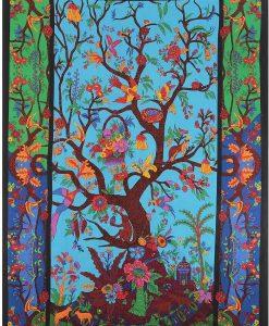 Tree of Life Tapestry by Sunshine Joy