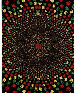 Weed Vortex Tapestry by SUnshine Joy