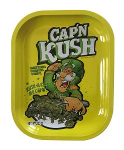 Kill Your Culture ROlling Tray Cap N' Kush