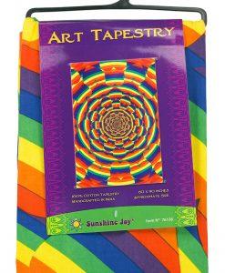 Equality Heart Sunshine Joy Tapestry