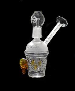 Cheech Sandblast Honeycup w/Drips Rig