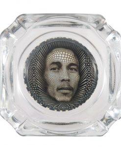 Bob Marley Glass Ashtray