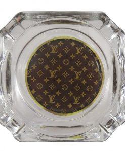 Louis V Glass Ashtray