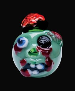 Chameleon Glass Zombie Pipe