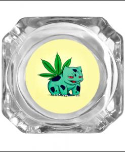 Pokemon Glass Ashtray