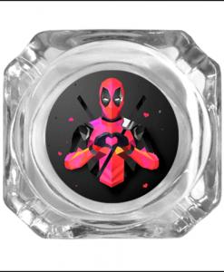Deadpool Glass Ashtray