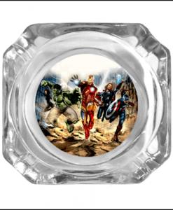Avengers Glass Ashtray