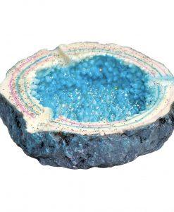 Blue Crystal Ashtray