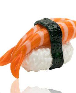 Empire Glassworks Shrimp Sushi Pipe