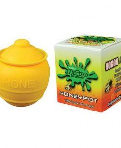 NoGoo Silicone Honey Pot Container