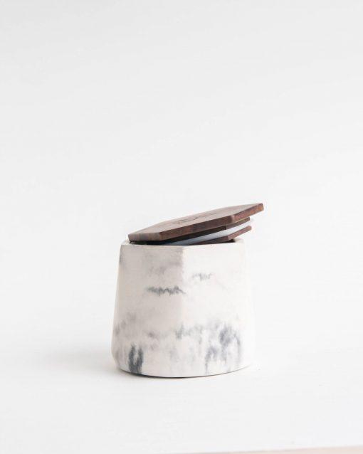 BRNT Malua Concrete Stash Jar